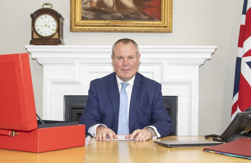 Conor becomes Minister of State at the Department for International Trade
